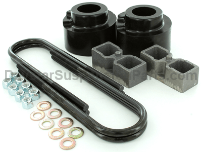Suspension Lift Kit Combo - 2.5 Inch Front 2 Inch Rear