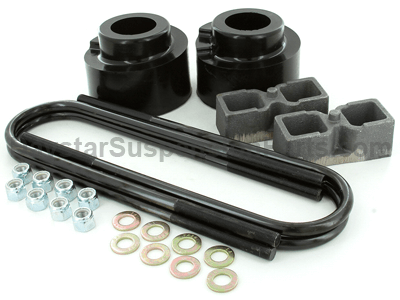 kf09128bk Suspension Lift Kit Combo - 2.5 Inch Front 2 Inch Rear