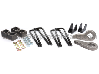 kg09119 Front and Rear Suspension Lift - 2 Inch