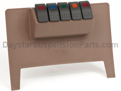 Lower Switch Panel - 11-12 Jeep JK - Tan Color