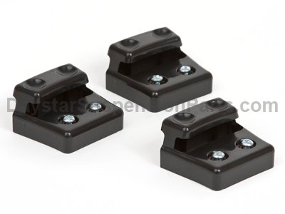 ku71117bk Cam Can Retainer Kit - Black - 3 Pack