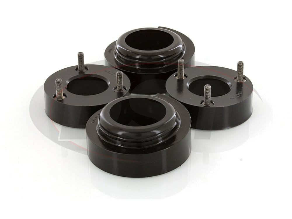 ka09100bk Front and Rear Coil Spring Spacers - 2 Inch