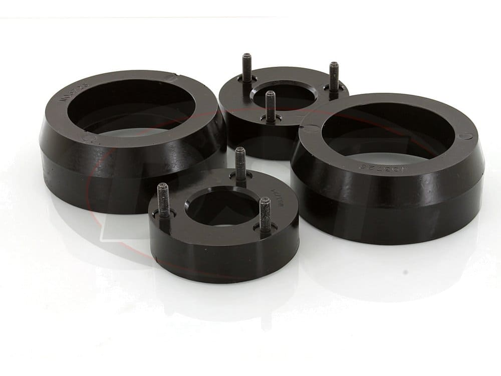ka09101bk Front and Rear Coil Spring Spacers - 2 Inch