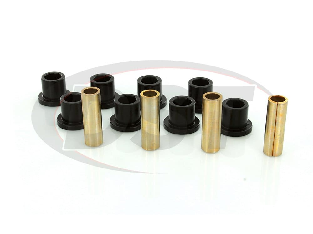 kc02008bk Front Leaf Spring Bushings - 1 1/4 Inch