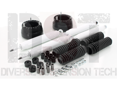 kc09119bk Front Coil Spring Spacers - 2 Inch