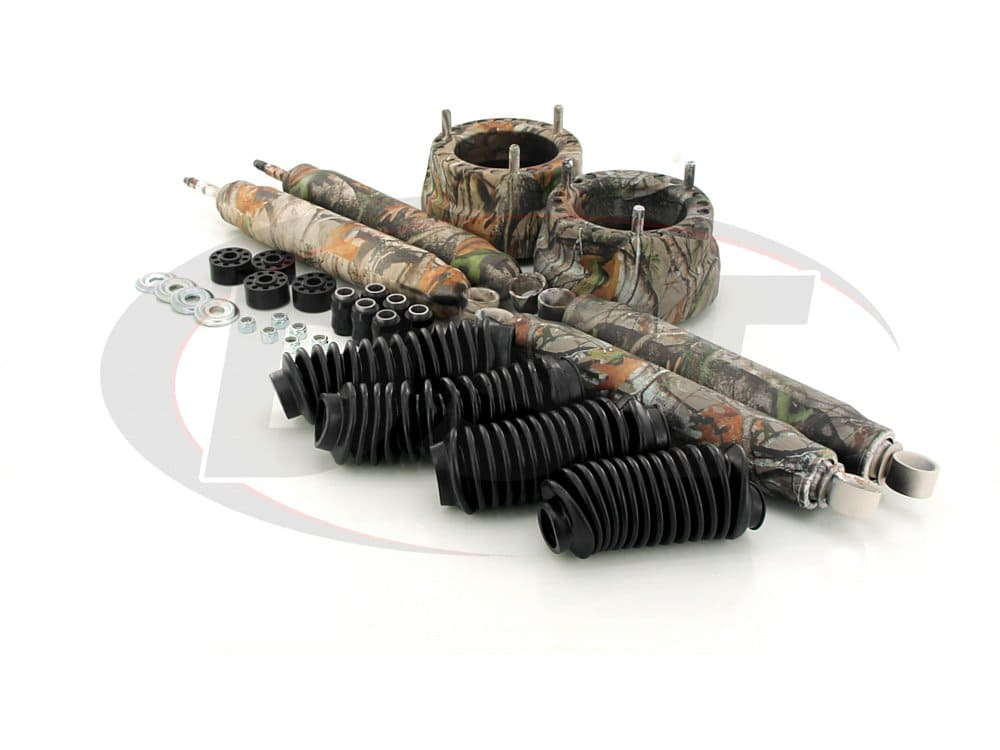 kc09119camo Front Coil Spring Spacers - 2 Inch