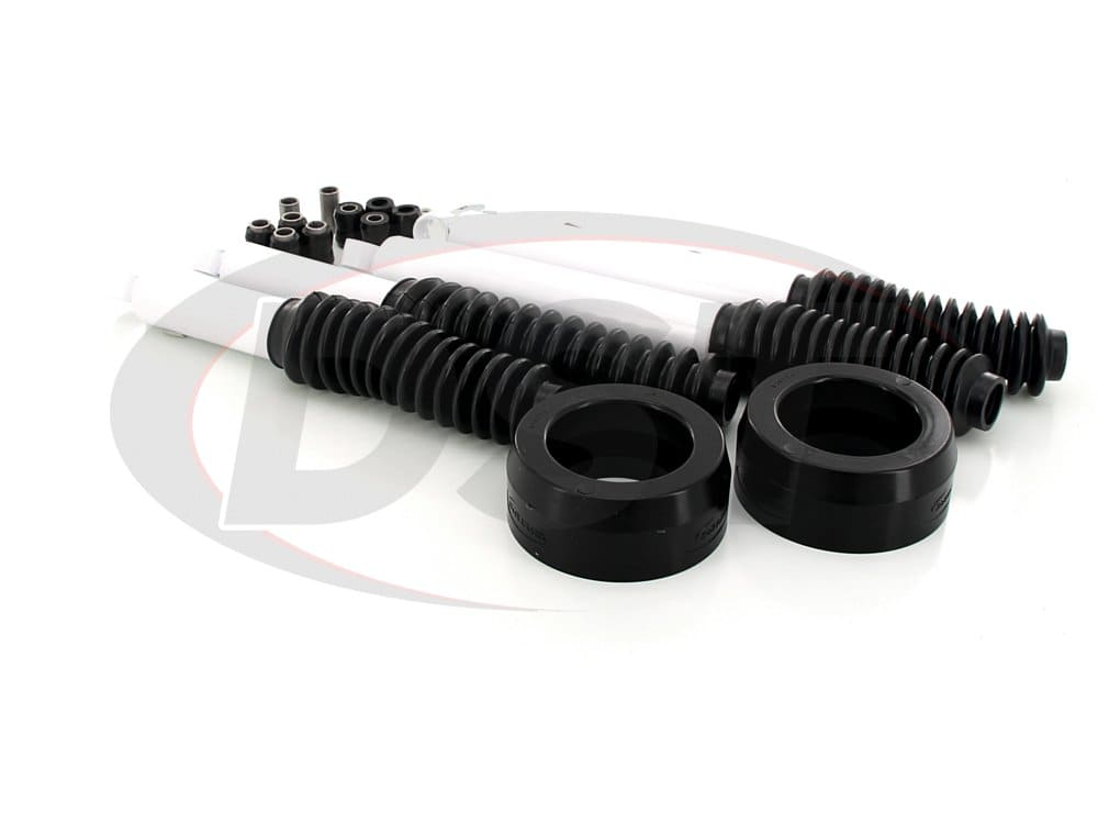 kc09121bk Front Coil Spring Spacers - 2 Inch