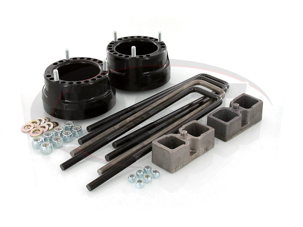 kc09122bk Suspension Lift Kit Combo - 2 Inch