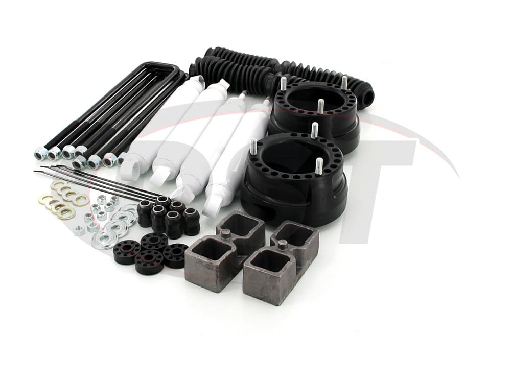 kc09123bk Suspension Lift Kit Combo - 2 Inch - Dana 60