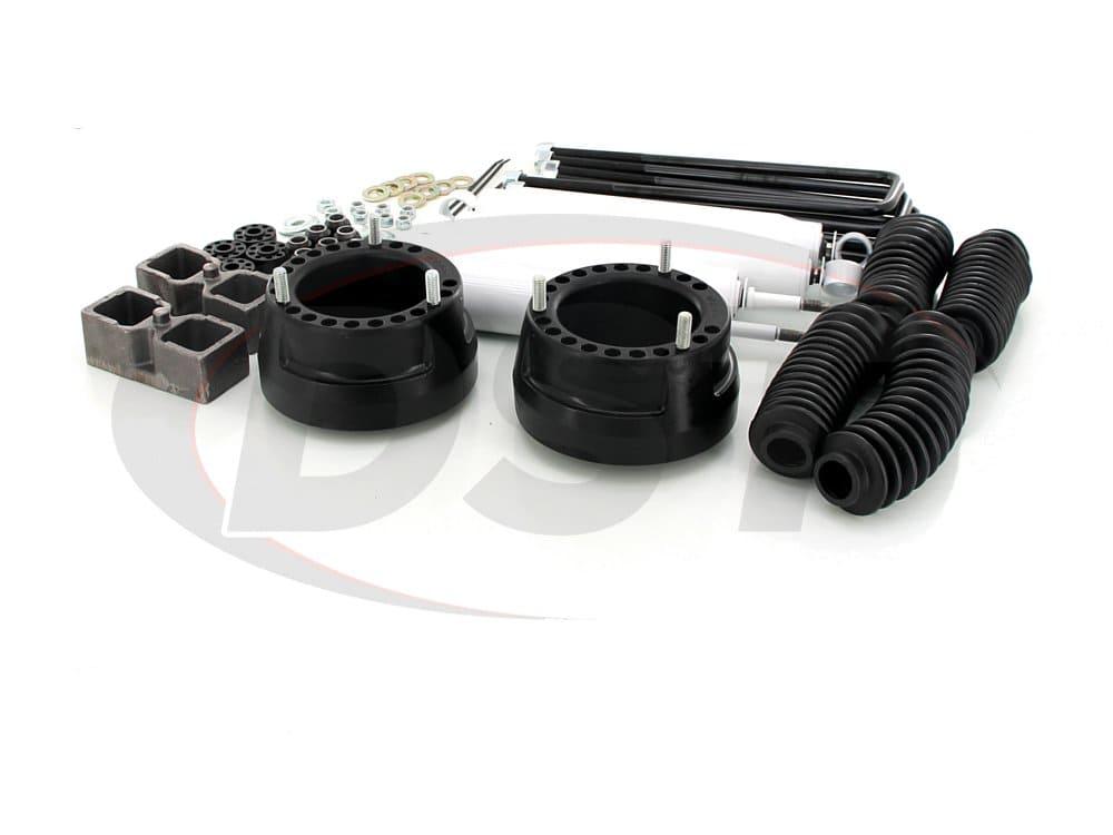 kc09123bk Suspension Lift Kit Combo - 2 Inch - Dana 60
