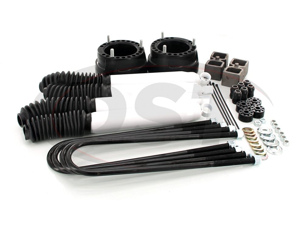kc09126bk Front and Rear Suspension Lift - 2 Inch - Includes Shocks