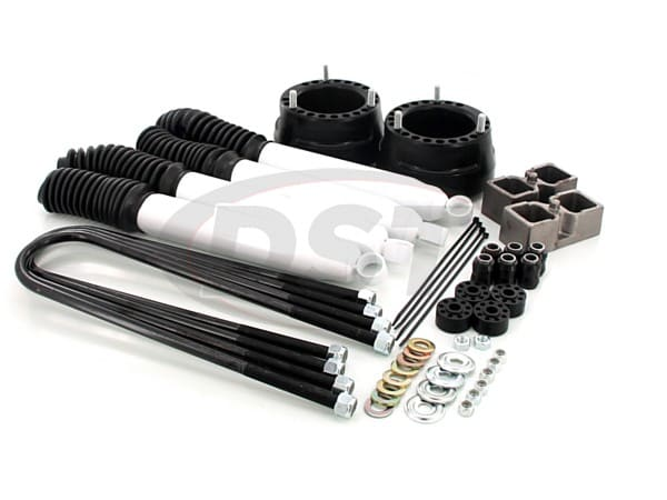Front and Rear Suspension Lift - 2 Inch - Includes Shocks
