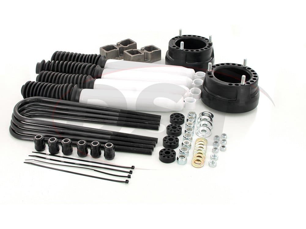 kc09129bk Front and Rear Suspension Lift - 2 Inch - Includes Shocks