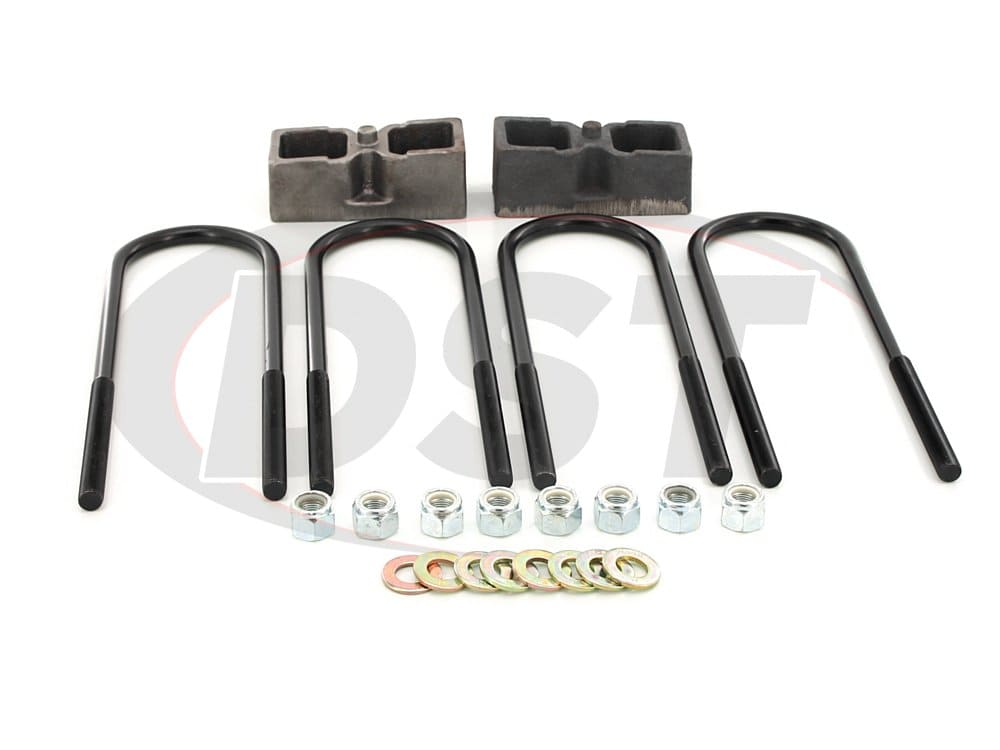 kc09132st Rear Lift Block Kit - 2 Inch