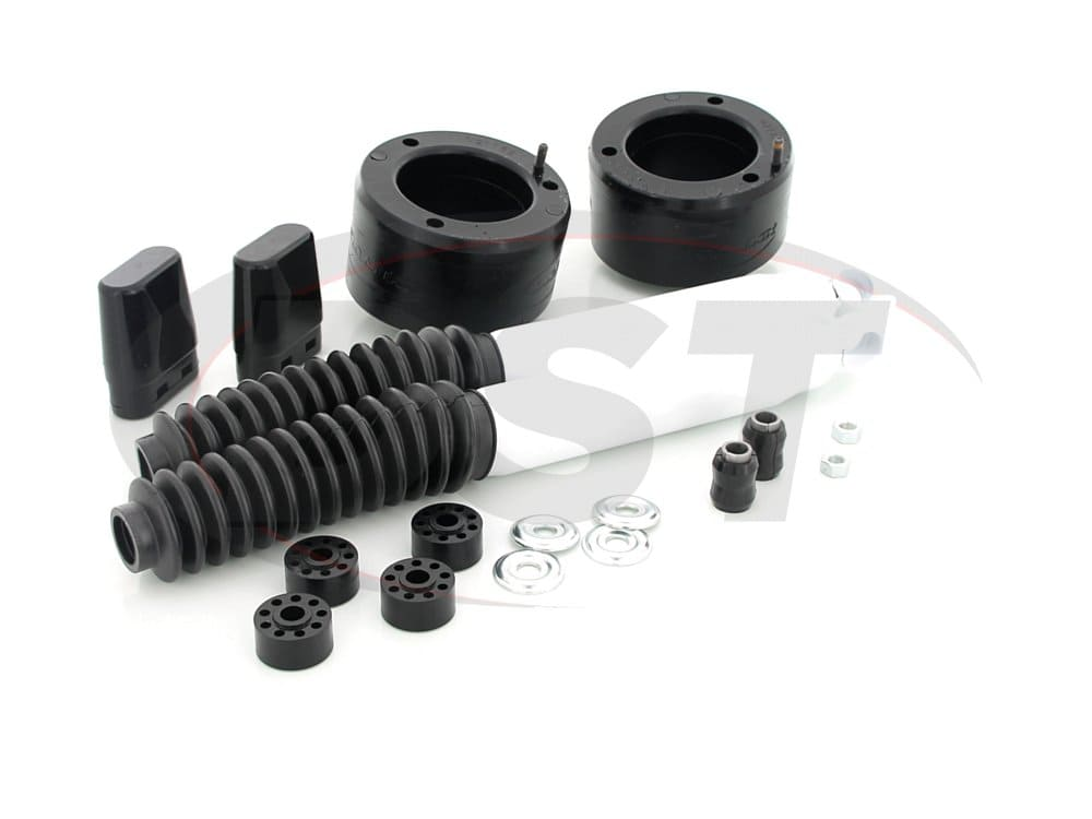 kc09137bk Front Leveling Kit with Shocks - 2 inch