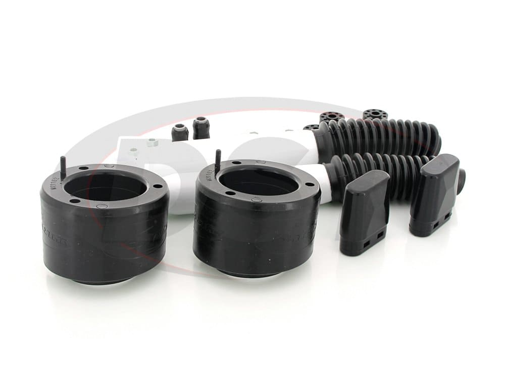 kc09138bk Front Leveling Kit with Shocks - 2 inch