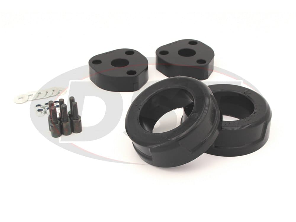kc09139bk Coil Spring Spacers 2.5 Inch Front and Rear