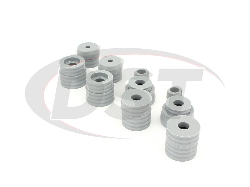 kf04015kv Body Mount Bushings and Radiator Support Bushings - Kevlar - Ford Explorer Sport Trac