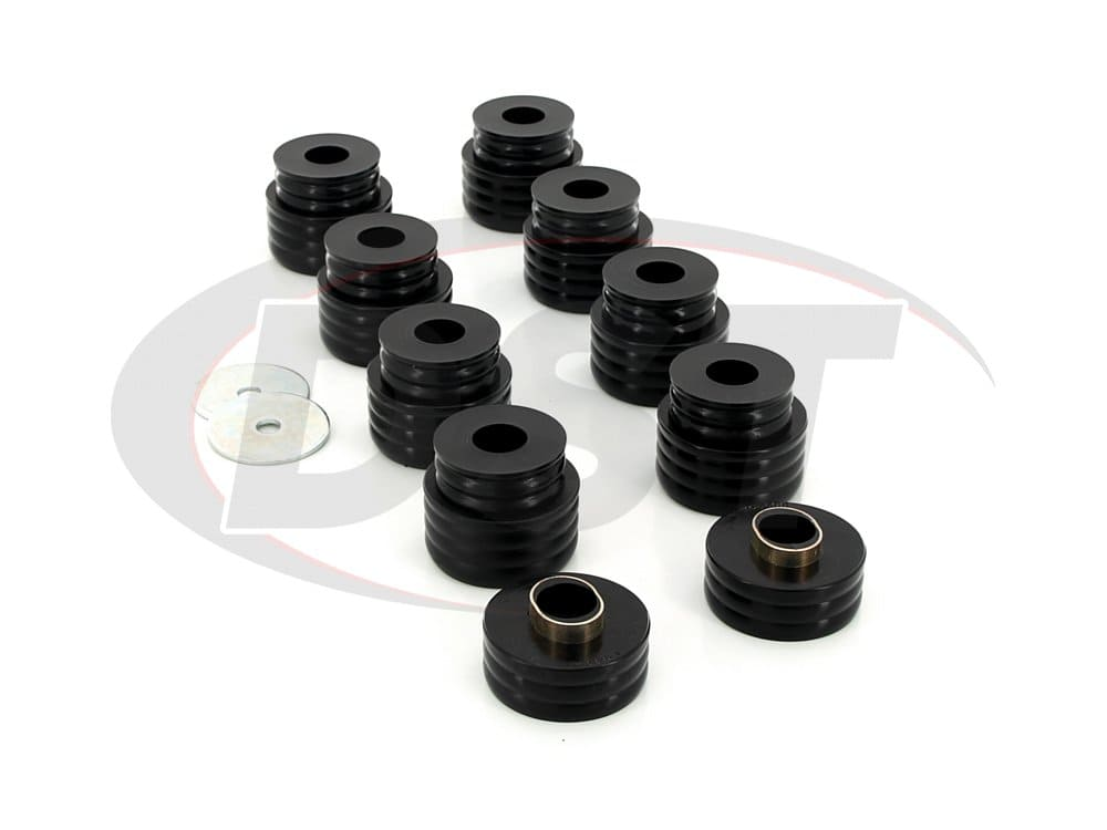kf04050bk Body Mount Bushings Kit - Super Duty