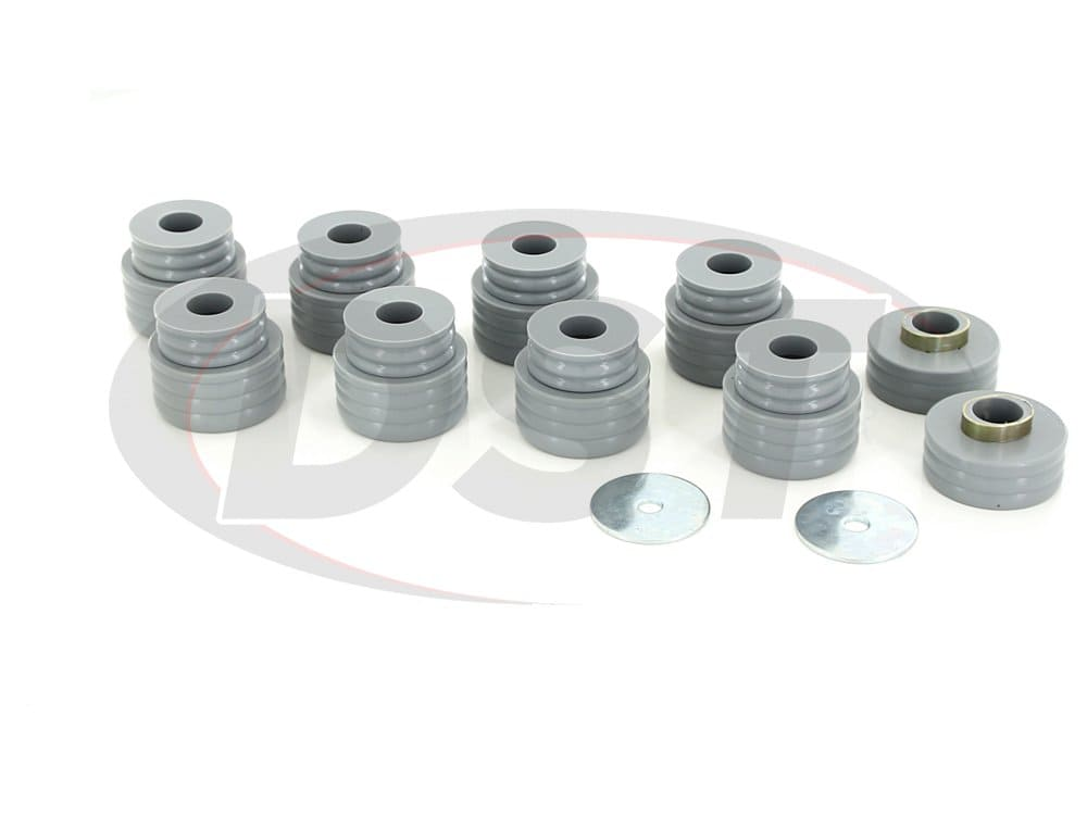 kf04050kv | Body Mount Bushing Kit - Kevlar | Ford F350 SD 05-16