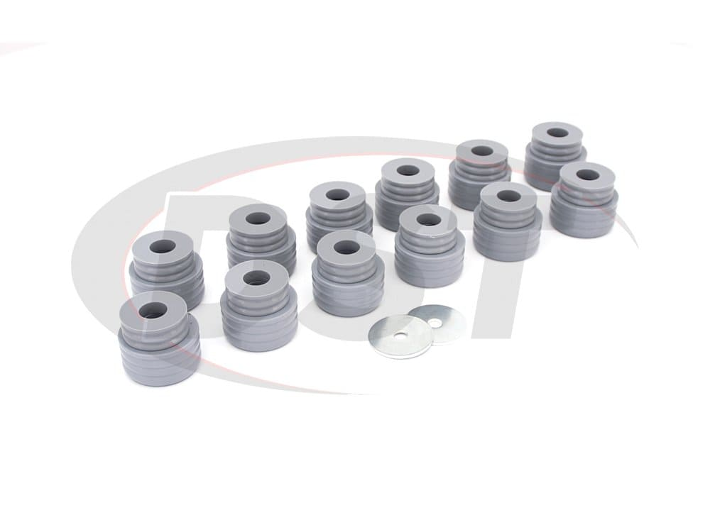kf04051kv Body Mount Bushings Kit - Kevlar - Ford Excursion