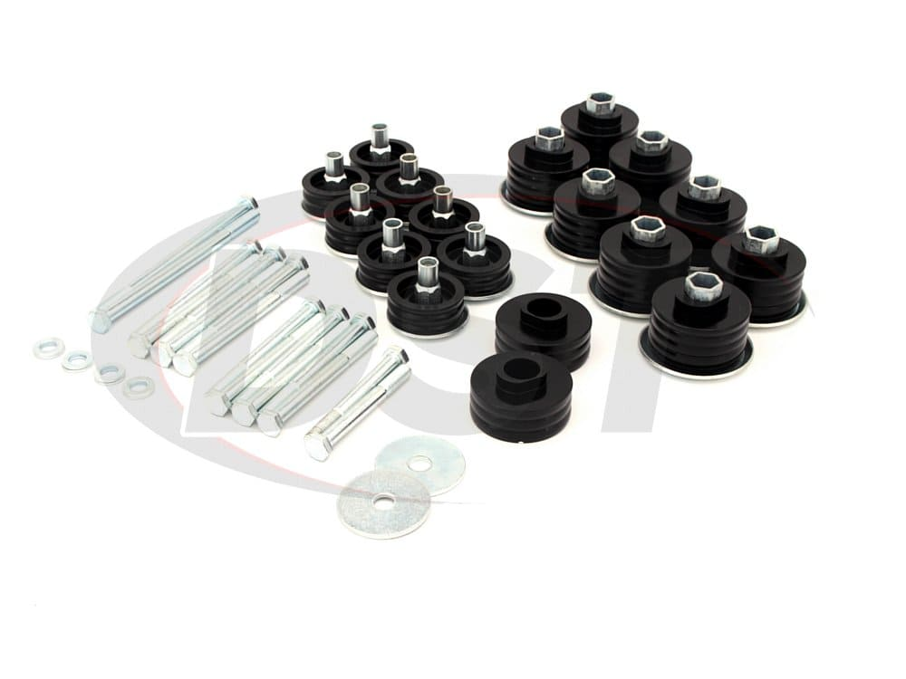 kf04058bk Body Mount Bushings Kit w/ Hardware - Super Duty