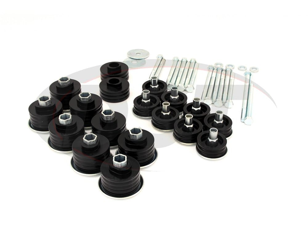 Body Mount Bushings Kit w/ Hardware - Super Duty