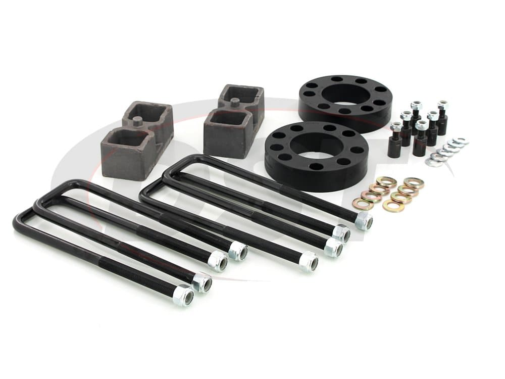kg09118bk Front and Rear Suspension Lift - 2 Inch