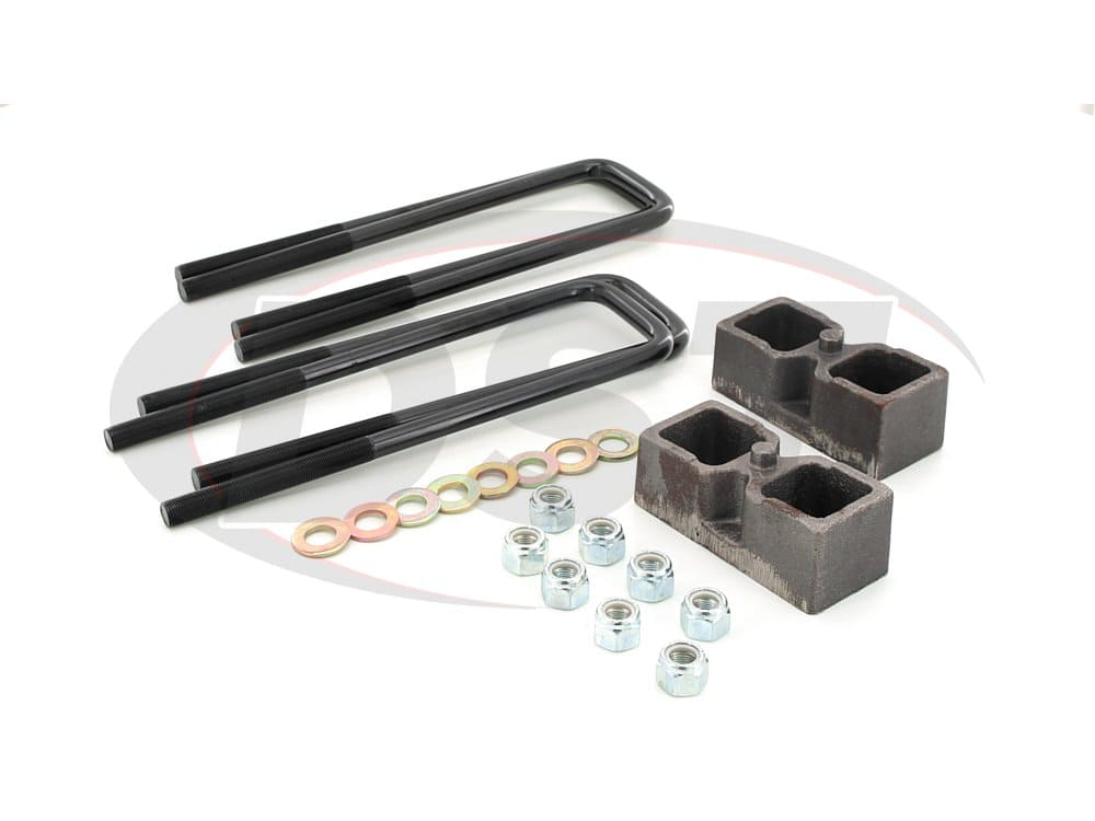 kg09124 Rear Lift Blocks - 2 Inch