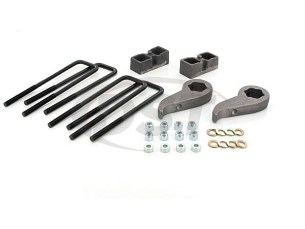 Front and Rear Suspension Lift - 2 Inch