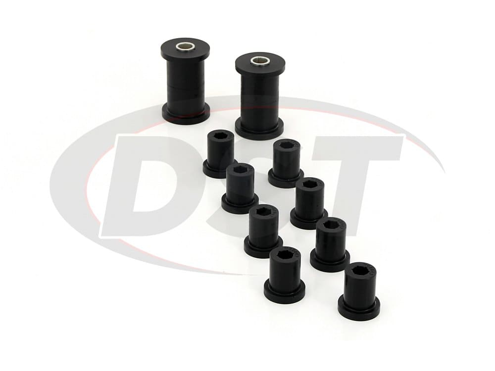 kj02003bk Rear Leaf Spring and Shackle Bushings