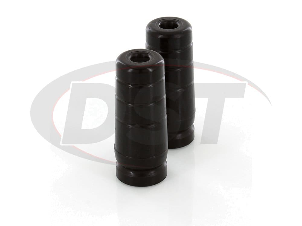 Jeep TJ Wrangler 2 extended 5 tall polyurethane bump stops 2 per set Daystar Black KJ09101BK Made in America Cherokee XJ and ZJ 1984 to 2006 2//4WD fits TJ