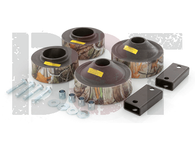 kj09137camo Front and Rear Coil Spacer Kit - 1-3/4 Inch - Camo