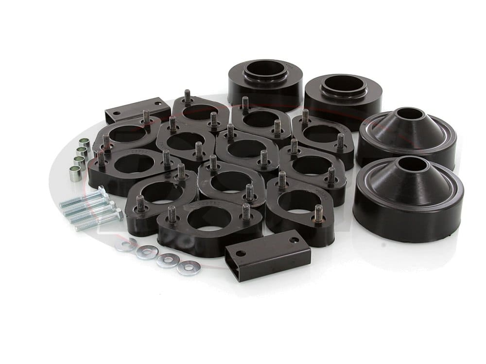kj09143bk Front and Rear Lift Kit - 2-3/4 Inch