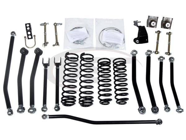 kj09175bk Low Center of Gravity Lift Kit - 3 Inch - JK Wrangler