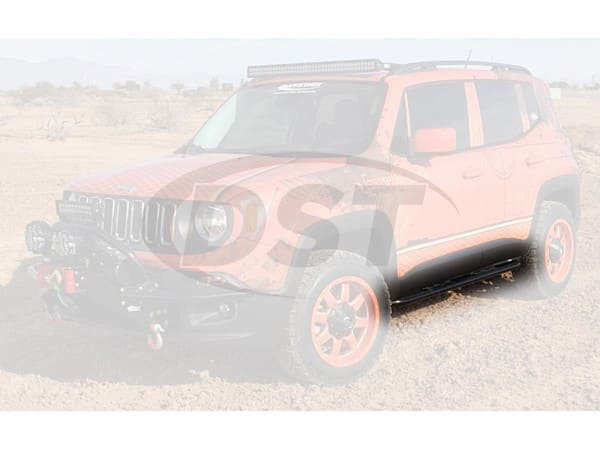 kj50012bk Rock Slider Bars for Jeep Renegade - Bolt On