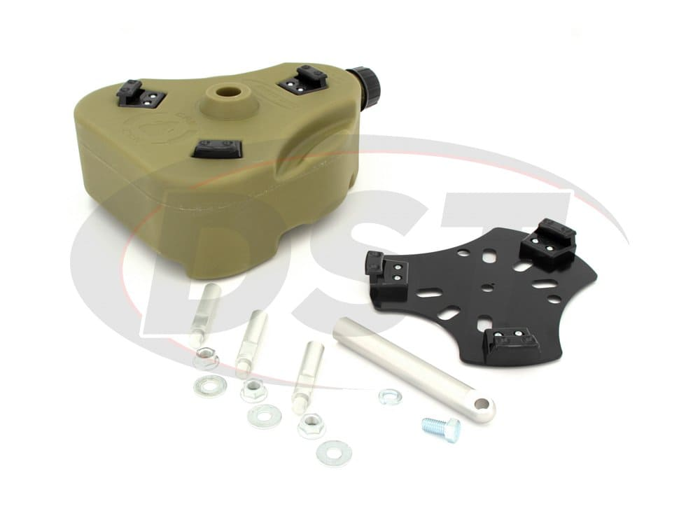 kj71035gn Jeep Cam Can Kit - Liquid Transfer - Green