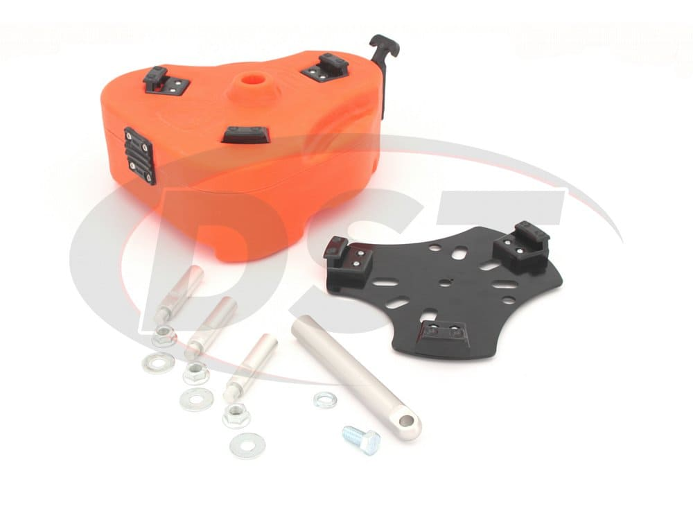 kj71035or Jeep Cam Can Trail Box Kit - Orange