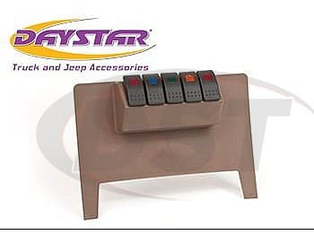 kj71038tn Switch Panel - 4 Rocker Switches - Tan