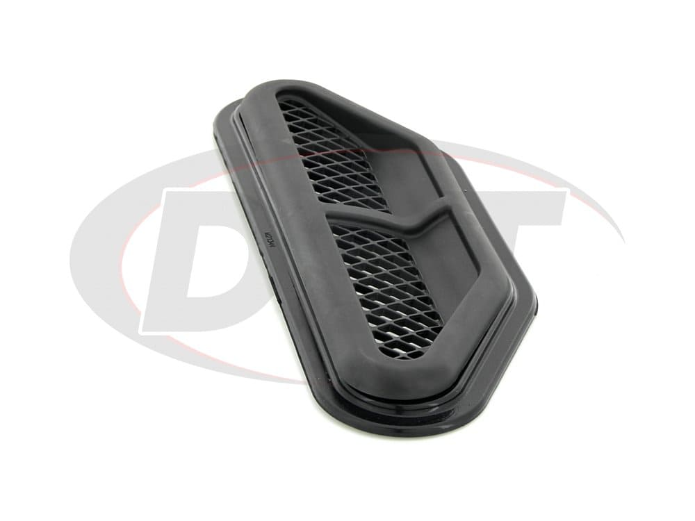kj71049bk Jeep Wrangler JK Front Center Hood Vent Kit, Black