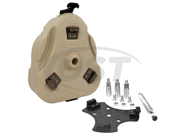 kj72001tn Jeep Cam Can Trail Box - Tan