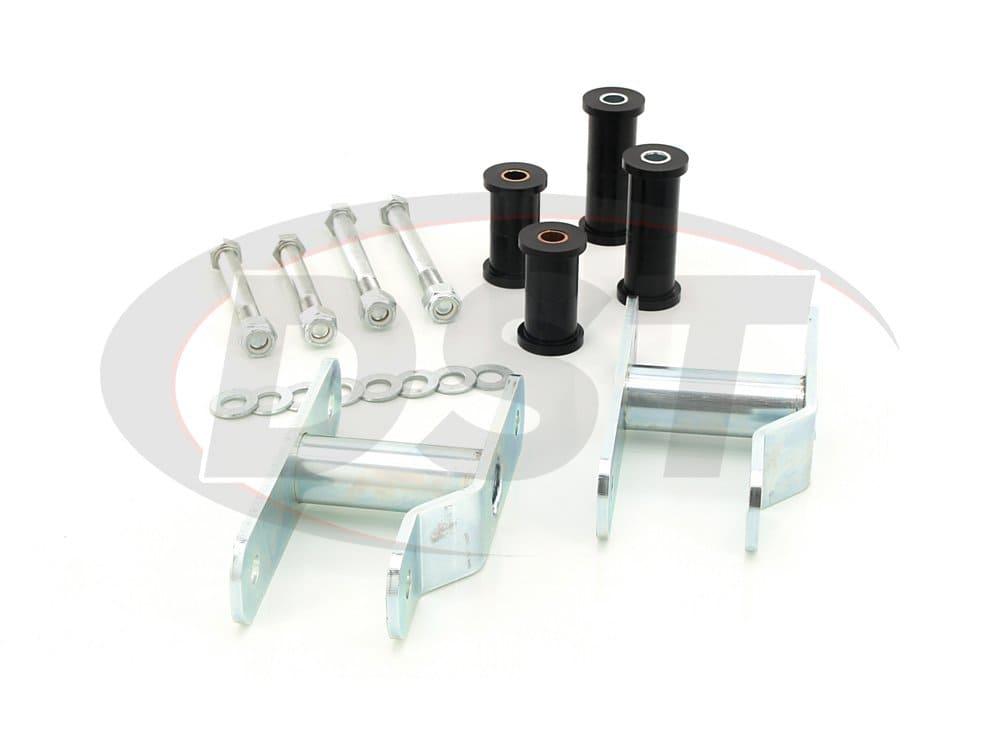 kn09107bk Rear Lift Block Kit - 1.5 Inch