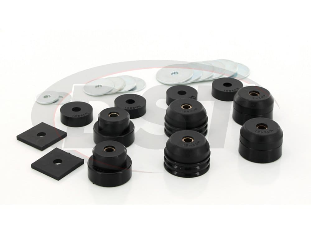 kt04007bk Body Mount Bushings - FJ40