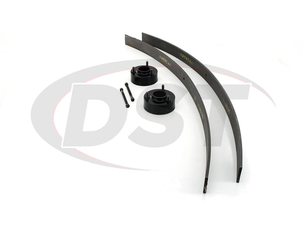 kt09104bk Suspension Lift Kit Combo - 2-1/2 Inch - 6 Lug