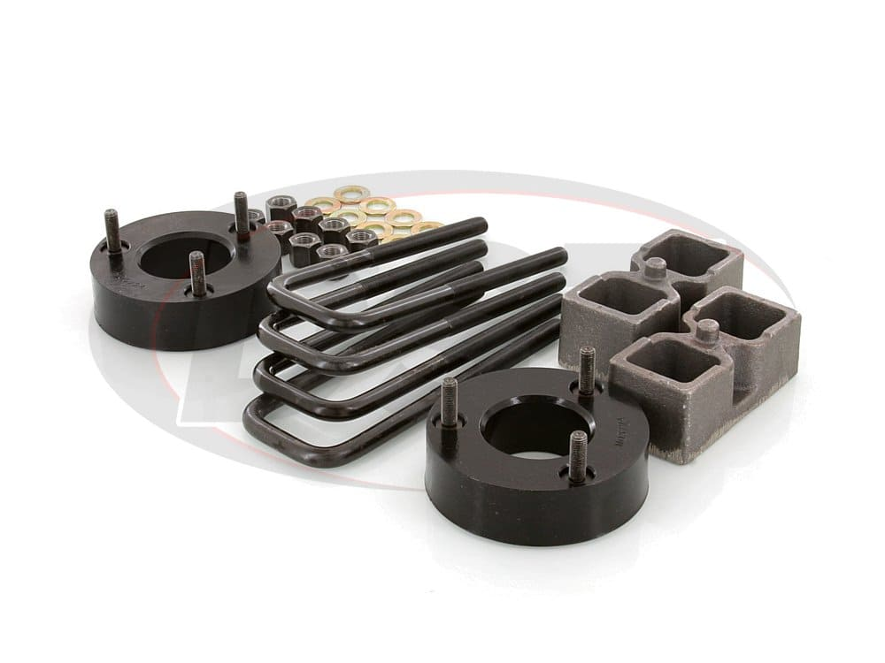kt09120bk Suspension Lift Kit Combo - 2-1/2 Inch Front 1-1/2 Inch Rear