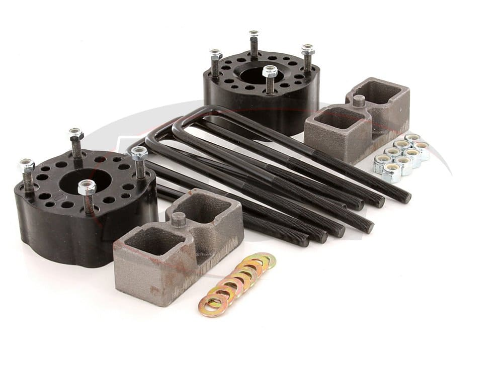 kt09131bk Suspension Lift Kit Combo - 3 Inch Front 2 Inch Rear