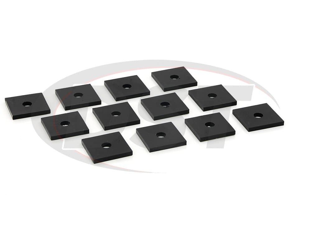 ku04004bk Body Spacers - 12 pack