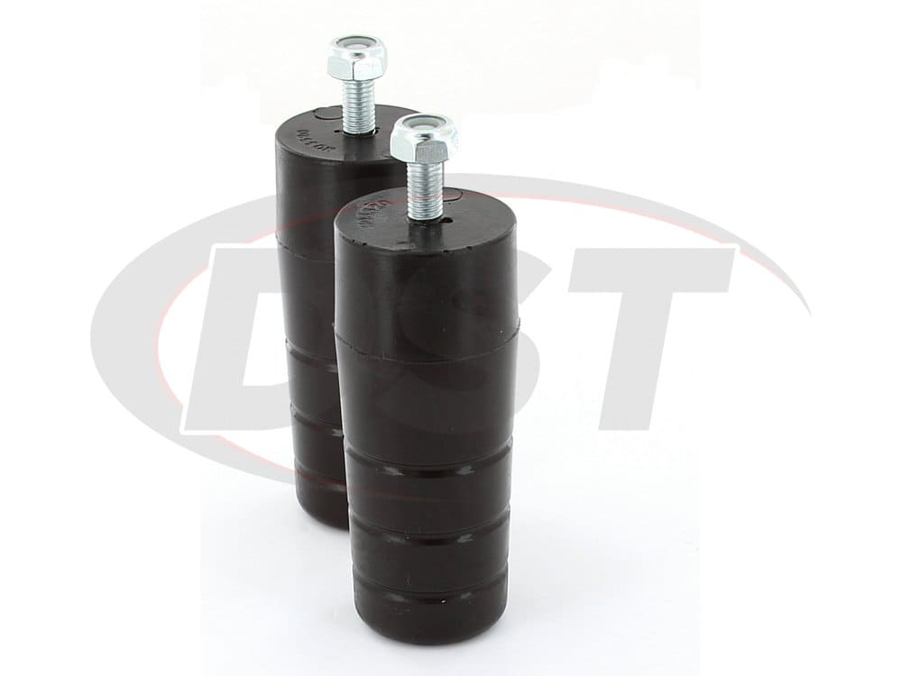 ku09037bk Bolt-in extended bump stop - front or rear