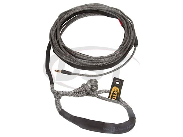ku10402bk 1/4 in x 50 ft Winch Line with Shackle End