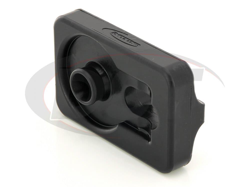 ku70039bk Winch Isolator Roller - Black
